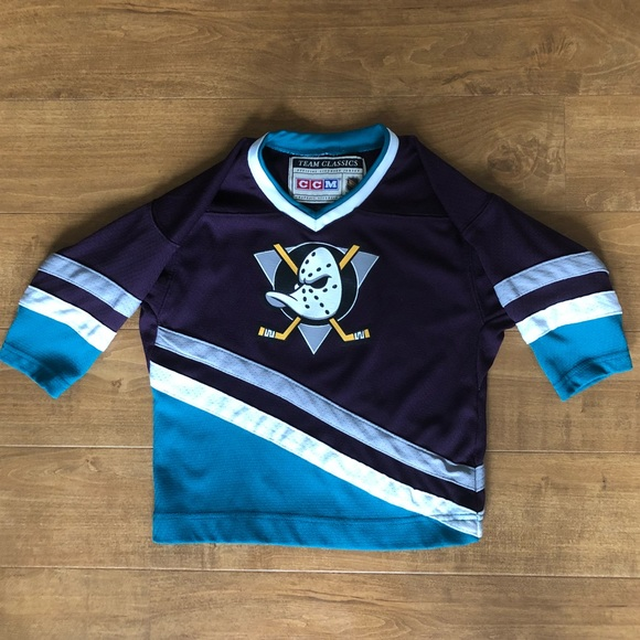 info for 835c8 9a738 CCM vintage mighty ducks jersey Toddler 2t/4t